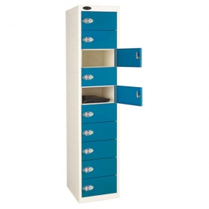 10 Door Laptop Storage Locker