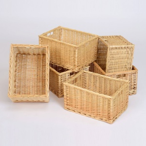 Wicker Basket - Deep (Pack of 6)
