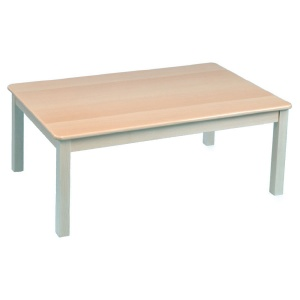 Children's Rectangular Solid Wooden Table (1200 x 690mm)