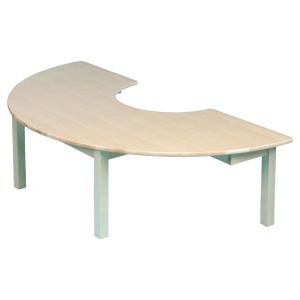 Teachers Table Solid Beech