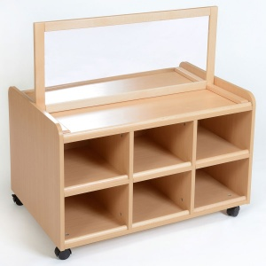 Double Sided Nursery Resource Unit + Mirror