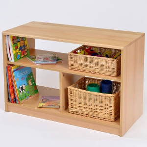 Room Scene -  Open Bookcase / Shelf Unit