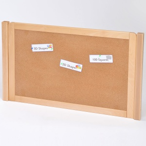 Room Scene - Cork Board Room Divider