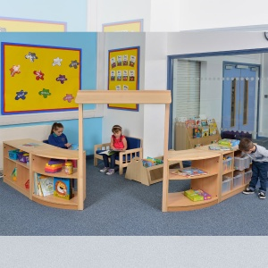 Room Scene 3 - Children's Play & Store Space