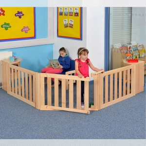 Room Scene 5 - Children's Fenced Play Space