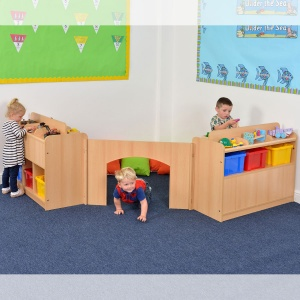 Room Scene 15 - Children's Play & Store Space