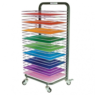 25 Shelf Premium Mobile Drying Rack