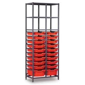Tall 2 Bay Science Storage - Multi-Tray