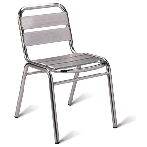 Aluminium Outdoor School Cafe Chair