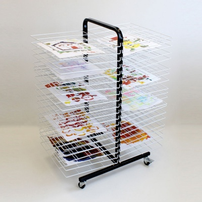 40 Shelf Mobile Drying Rack - Large Shelf