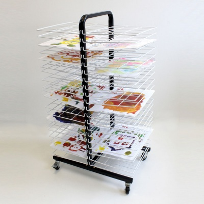 40 Shelf Mobile Drying Rack - Small Shelf