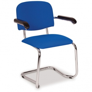 Advanced 604C Stacking Cantilever Armchair
