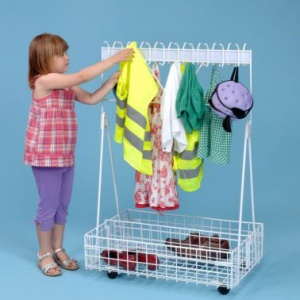 Mobile Cloakroom Trolley