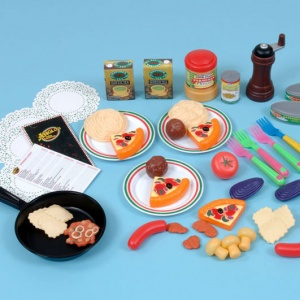 Children's Italian Food Set (55 Pieces)
