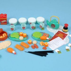 Children's Chinese Food Set (70 Pieces)