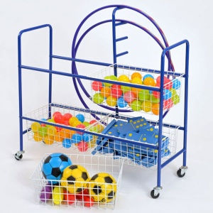School Sports 4 Basket Trolley