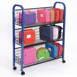 School Single Lunchbox Trolley