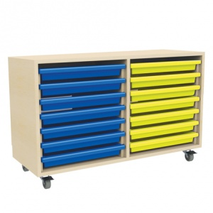 Two Column Art Tray Storage (14 x A3 Trays)
