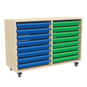 Two Column Art Tray Storage (16 x A3 Trays)