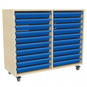 Two Column Art Tray Storage (20 x A3 Trays)