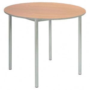 Advanced Chunky Round School Table