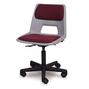 Advanced ICT Student Swivel Chair + Seat & Back Pad