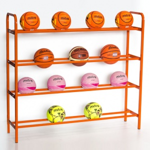 Heavy-Duty Ball Storage Shelf