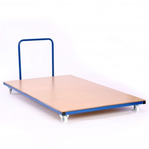 Heavy-Duty Horizontal Mat Trolley