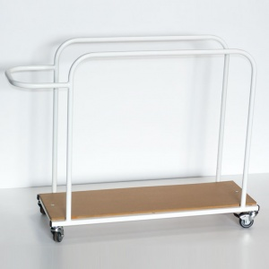Heavy-Duty Junior Vertical Mat Trolley