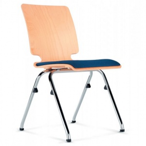 AXO Wood Conference Chair + Seat Pad