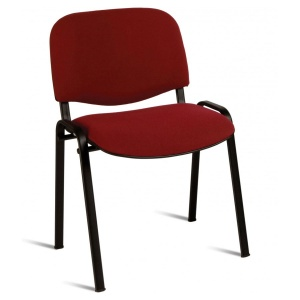 ISO Black Stacking Chair