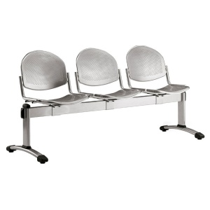 Dalby Metal Beam Seating - 3 Seater Flat Leg
