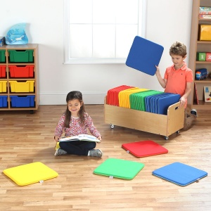Rainbow™ Square Cushions & Tuf 2™ Trolley