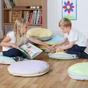 Story Cushions - Pastel Colours (Pack of 10)