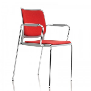 Malika C - School Conference Armchair + Seat & Back Pad