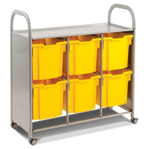 Callero Treble Trolley + 6 Jumbo Trays