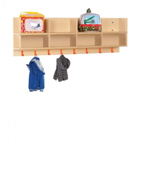 CLK001 Bubblegum Cloakroom Top  With 8 Compartments