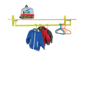 CLK003 Bubblegum Cloakroom Top With Shelf & Hanging Rail