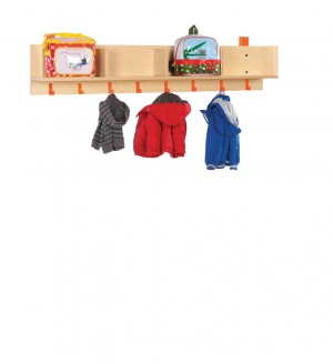 CLK005 Bubblegum Cloakroom Top With 4 Open Compartments