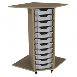 PSU11 11 Tray School Corner Storage