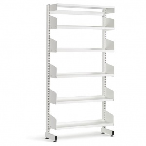 Technic Single Sided Metal Library Shelving