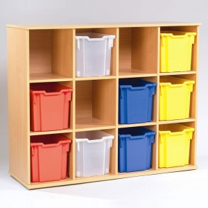 Yorkshire School Storage - 12 Jumbo Tray