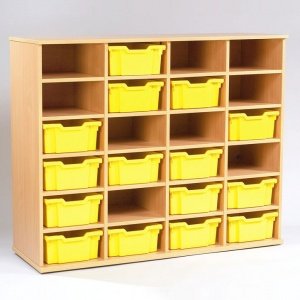 Yorkshire School Storage - 24 Deep Tray