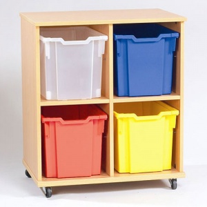 Yorkshire School Storage - 4 Jumbo Tray