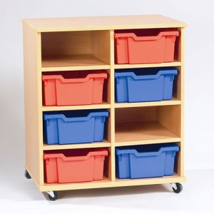 Yorkshire School Storage - 8 Deep Tray