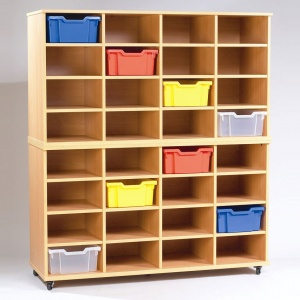 Yorkshire School Storage - 32 Deep Tray