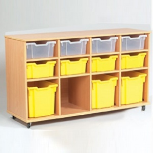 Yorkshire School Storage - 8 Deep & 4 Jumbo Tray