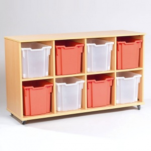 Yorkshire School Storage - 8 Jumbo Tray