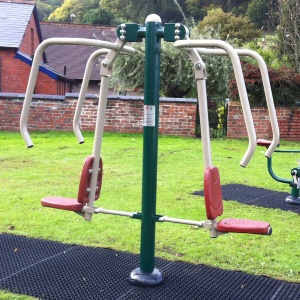Outdoor Gym Double Power Push