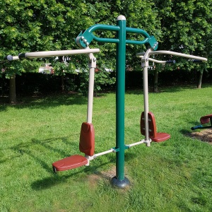 Outdoor Gym Double Pull Down Challenger